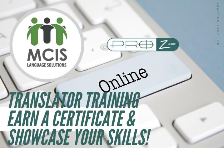 MCIS Online Translator Training