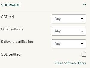 software filters