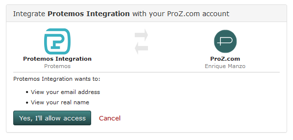 Yes, I'll allow access