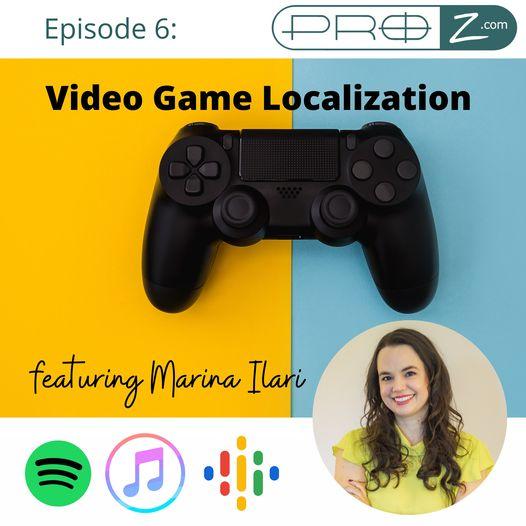 Video game localization with Marina Ilari