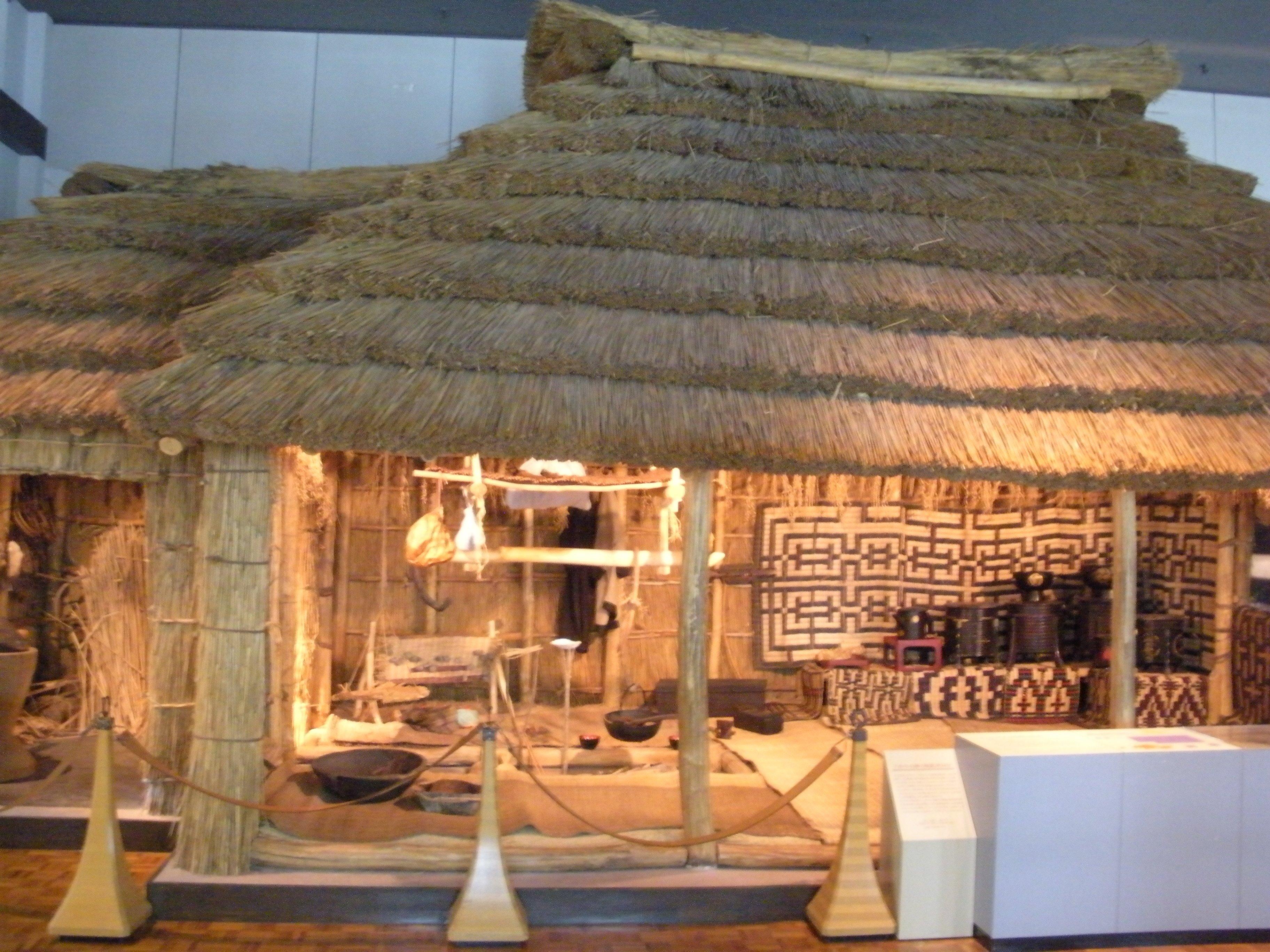 Ainu Traditional House