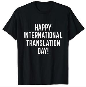 Happy International Translation Day