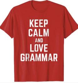 Keep Calm and Love Grammar