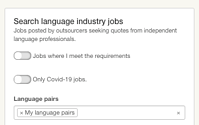 Search language industry jobs