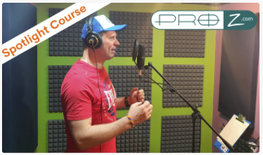Paul Urwin Voiceover Course