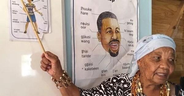 katrina esau teaches nluu language