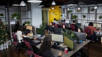 GTE team office